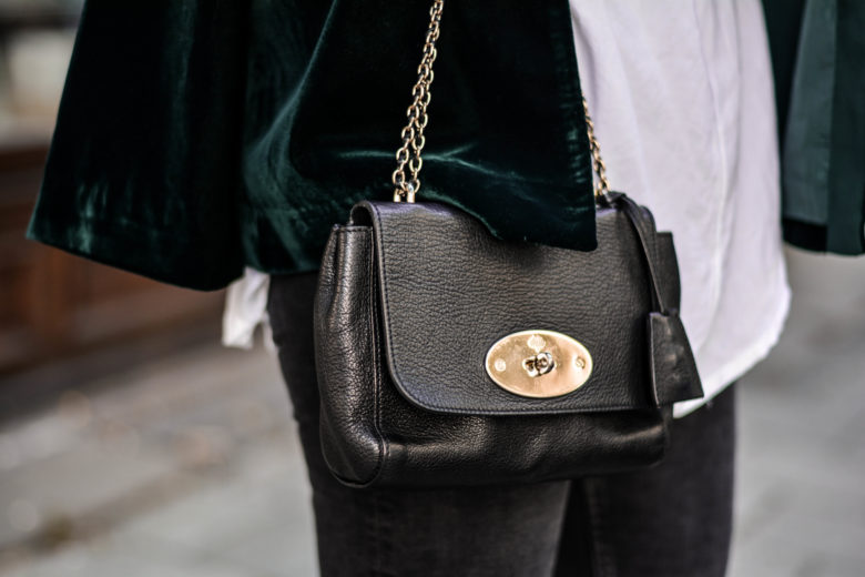 mulberry lily leder handtasche olivia julietta vestiaire collective fashion blog deutschland